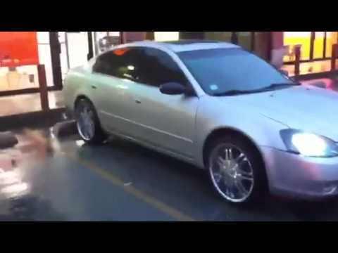 Nissan Altima 2.5S >> 2002 Nissan Altima on 20's - YouTube