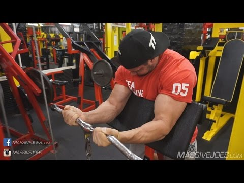 In The Gym With Team MassiveJoes - Arms Workout 16 May 2016 - Iron Works Gym Birmingham UK