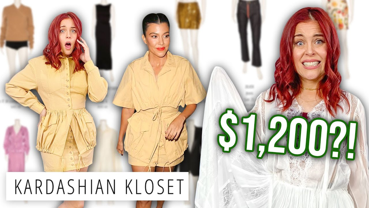 We Bought The Kardashians' USED CLOTHES?!