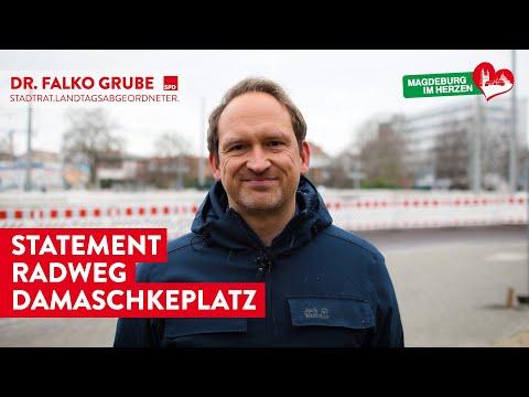 Statement von Dr. Falko Grube zum Radweg auf dem Damaschkeplatz