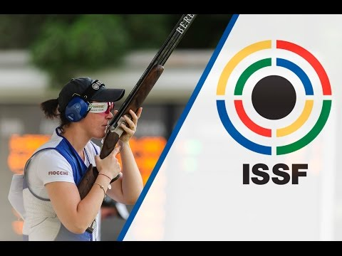 Finals Trap Women - ISSF Shotgun World Cup 2015, Al Ain (UAE)
