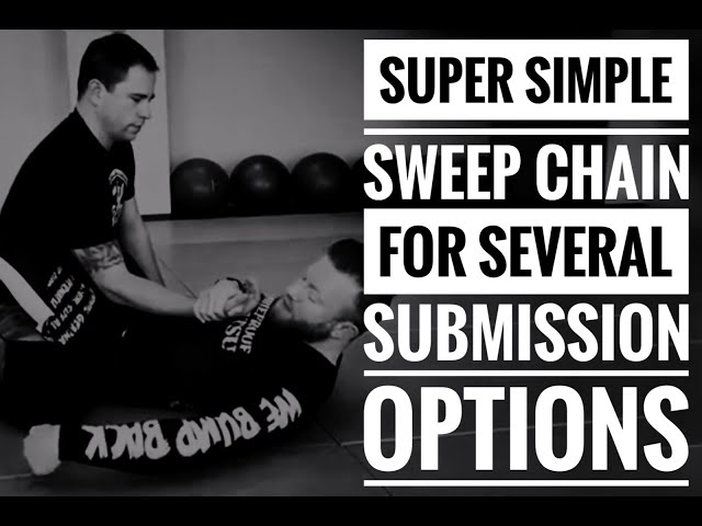 Super Simple Sweep Chain for Several Submission Options | Jiu-Jitsu Submissions