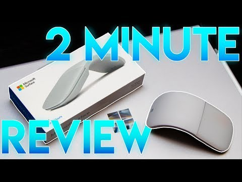 Surface Arc Mouse 2019 - Review In Under 2 Minutes