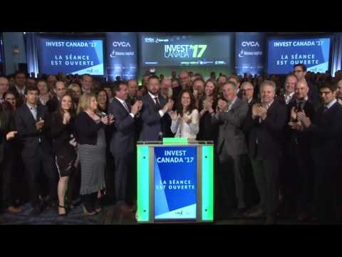 Canadian Venture Capital and Private Equity Association opens Toronto Stock Exchange, June 7, 2017