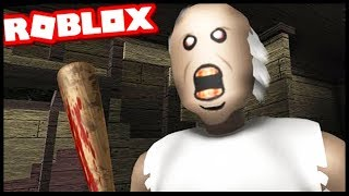 GRANNY HORROR GAME IN ROBLOX !