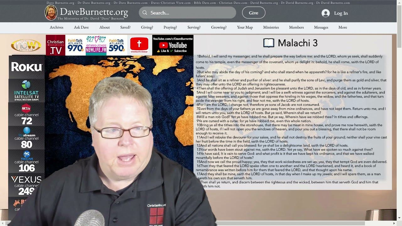 Malachi 3 ✒️ Tithing
