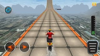 IMPOSSIBLE TRACK SKY BIKE STUNTS 3D #Dirt Motorcycle Racer Game #Bike Games To Play #Games Download