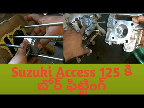 How to Repair the Bore kit for Suzuki Access 125cc