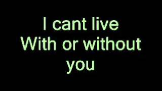 U2 - With or Without you [LYRICS+MP3 DOWNLOAD]