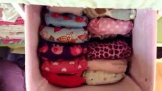 Cloth Diaper Change Table