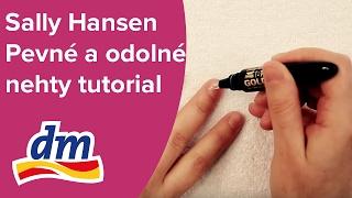 Sally Hansen | Pevné a odolné nehty | tutorial | dm drogerie
