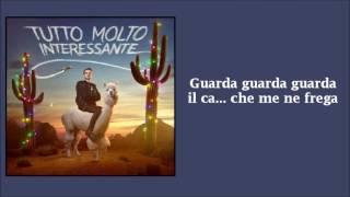 Fabio Rovazzi - Tutto molto interessante TESTO