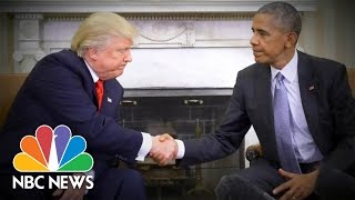 President Obama: Donald Trump 'Doesn't Seem To Have Any Plans Or Specific Solutions' | TODAY