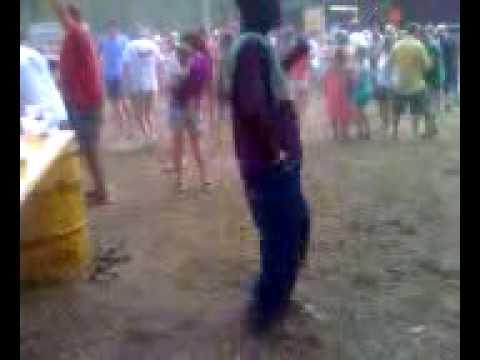Craziest drunk guy ever!, Beef Festival 2010, Amelia, VA