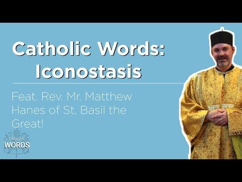 Catholic Word of the Day - Iconostasis