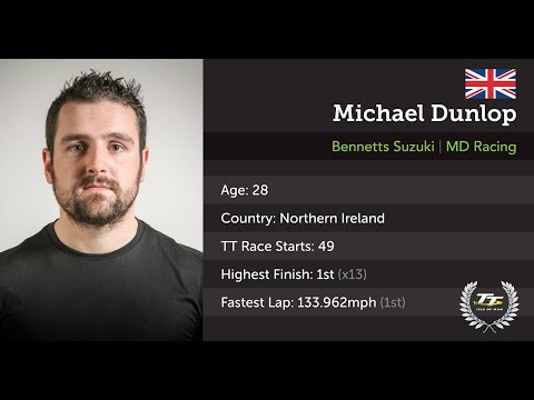 Michael Dunlop Interview - Isle of Man TT 2017 - Press Launch