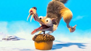 Scrat causes the Continental Crack-Up Scene - ICE AGE 4 (2012) Movie Clip