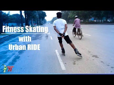 Skating 71 | Fitness skating with Urban RIDE | Morning workouts with Salman Adnan Sunny.