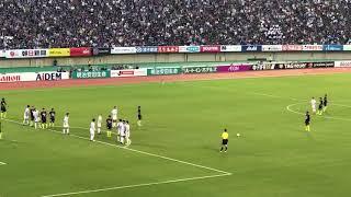 サンフレッチェ広島vsコンサドーレ札幌2017年9月30日.