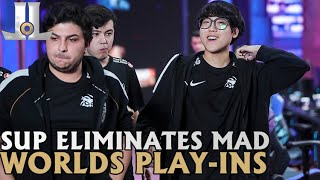 Supermassive Ends Mad Lions Run |  #Worlds2020 Play-in Knockouts