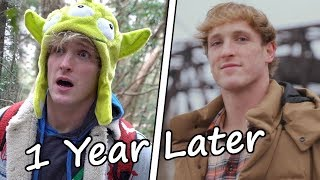 Logan Paul Forest Video - 1 Year Later