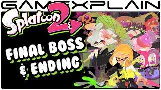 Splatoon 2 - Final Boss & Ending (Nintendo Switch)