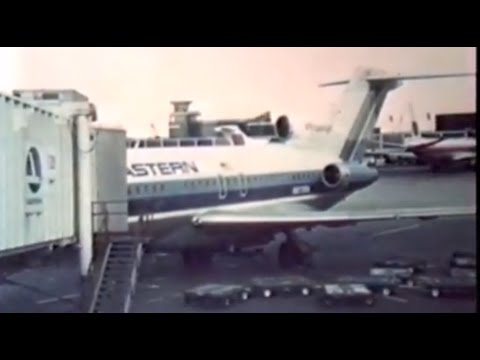 Eastern Airlines Boeing 727-100  / Takeoff from Chicago-O