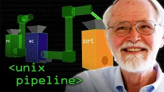 Unix Pipeline (Brian Kernighan) - Computerphile