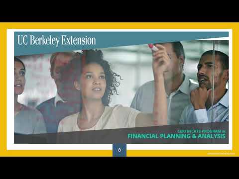 Certificate Program In Financial Planning & Analysis Online Information Session