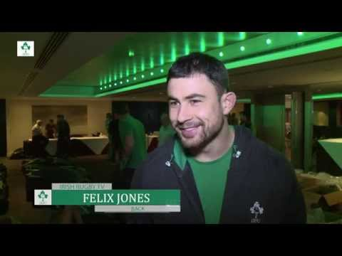 Irish Rugby TV: Felix Jones Tops