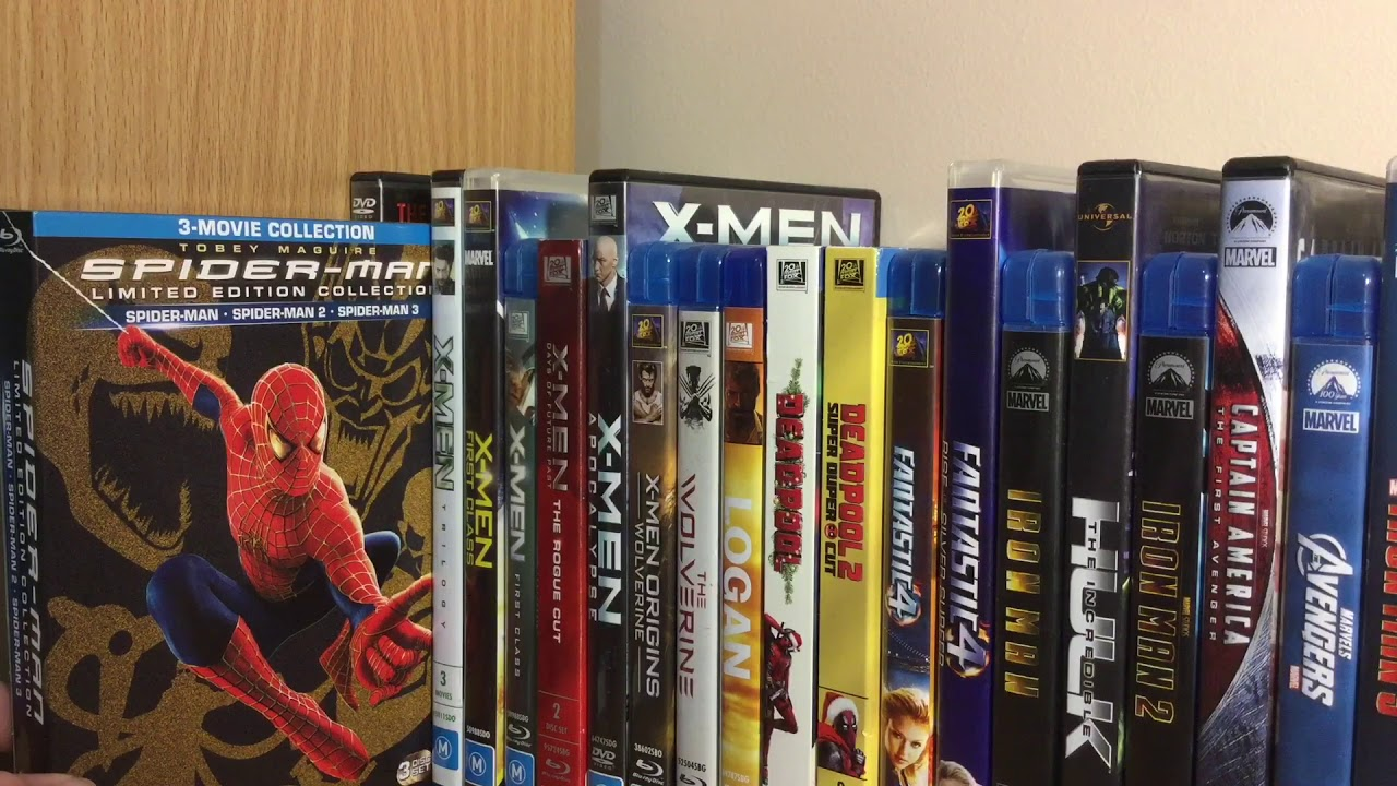 Marvel Blu Ray and DVD Collection!
