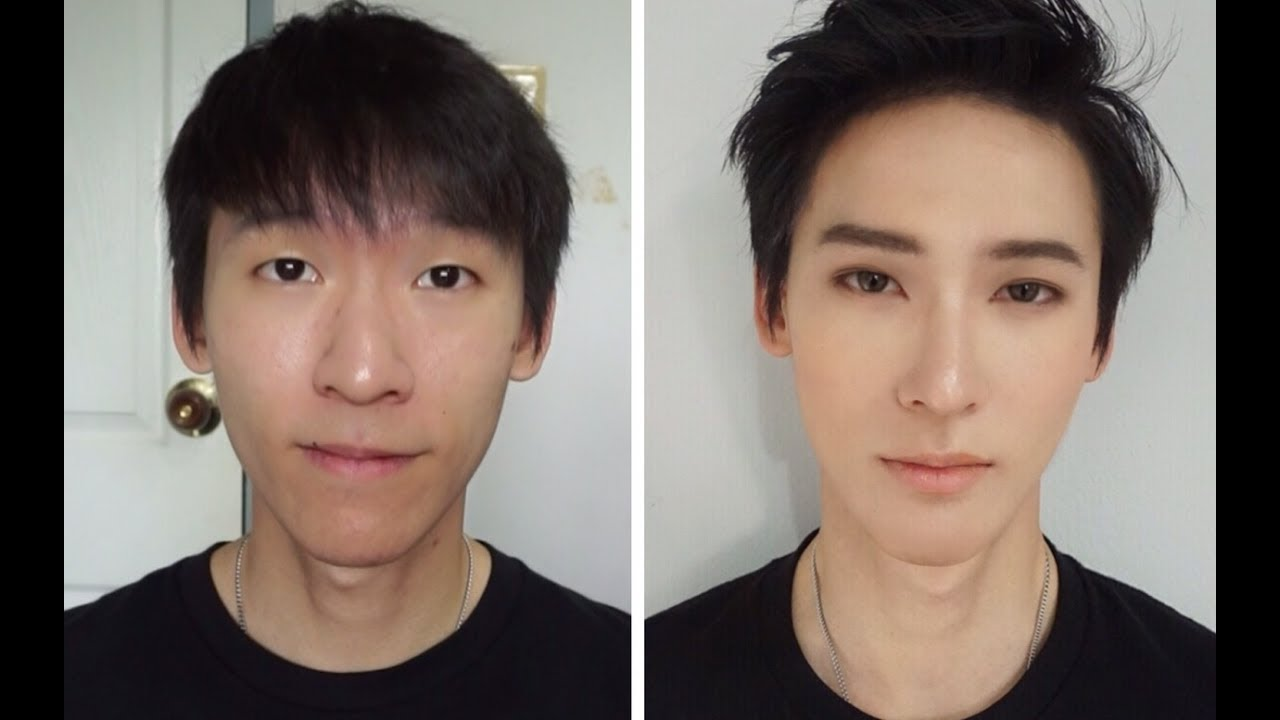 Kpop Makeup For Guys DIY OPPA MAKEUP [EN cc...