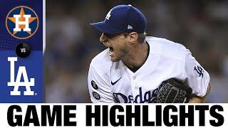 Astros vs. Dodgers Game Highlights (8/4/21)   MLB Highlights