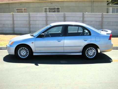 2001 honda civic 170i auto for sale on auto trader south africa youtube. Black Bedroom Furniture Sets. Home Design Ideas