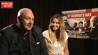 Keeley Hazell & Frank Harper Interview on St George's Day film