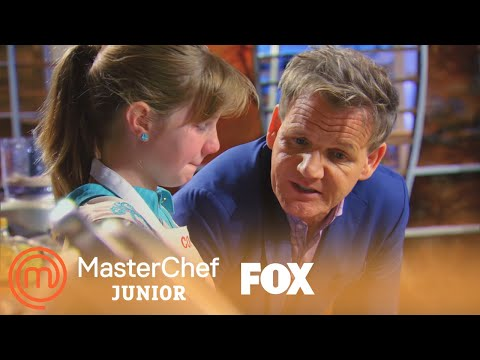 Gordon Comforts Coco | Season 2 Ep. 1 | MASTERCHEF JUNIOR
