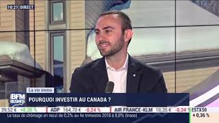 Victor Pagès sur BFM Business - Pourquoi Investir Au Canada ?
