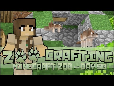 Red Wolf Pups Leaving the Den!! 🐘 Zoo Crafting: Season 2 - Episode #90
