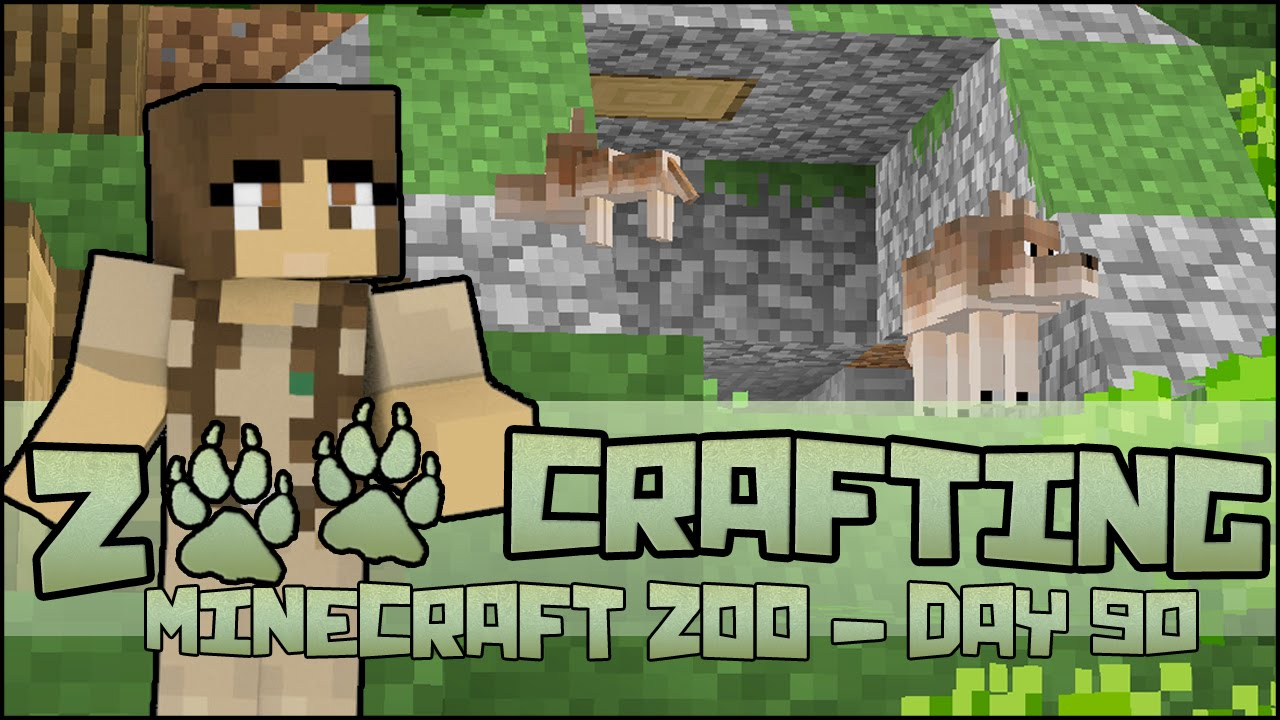 Red Wolf Pups Leaving The Den Zoo Crafting Season 2 Episode 90