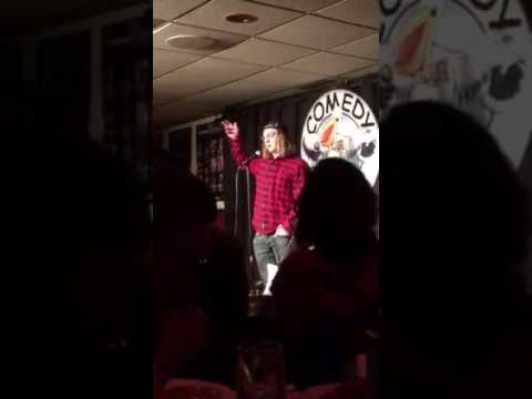 Danny Flaherty. My First Stand up  performance ever at the comedy cove in NJ