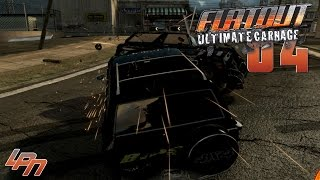 FLATOUT ULTIMATE CARNAGE Part 4 - Alle zerBlasten!! (PC) / Lets Play Flatout UC