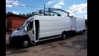 Фургоны на базе прицепов для DHL. Ситроен. Производство ООО Багем
