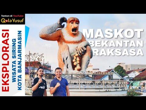 eksplorasi-wisata-kota-banjarmasin,-siring-menara-pandang-dan-maskot-bekantan---wonderful-indonesia