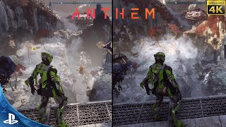 Check out some anthem graphics using the playstation 4 pro vs enthusiast level gaming pc. this is a blind test so no labels time. which looks better lef...