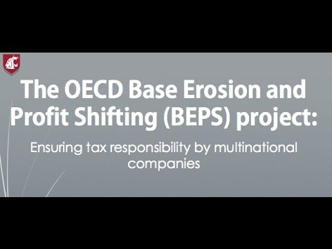 Panel discussion on the OECD's BEPS project