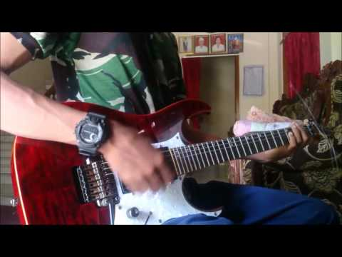 Vierratale - Terlalu Lama guitar cover GusAgus