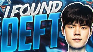 Yassuo | I FOUND DEFT IN SOLO QUEUE! Ft. Olleh