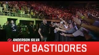 De arrepiar! Anderson Silva é ovacionado pela torcida no UFC179