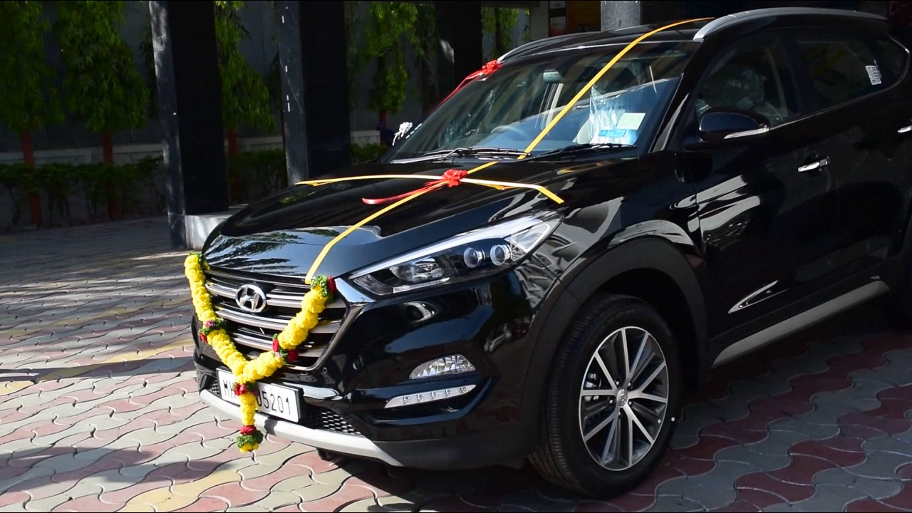 Hyundai Tucson Facelift 2018 >> Hyundai Tucson 2017 india    walkaround - YouTube