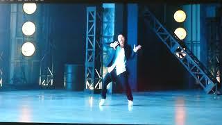 キスマイの横尾渉さんのみのダンスです。